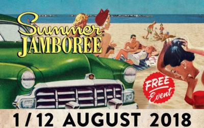 Rocket Truck al Summer Jamboree 2018